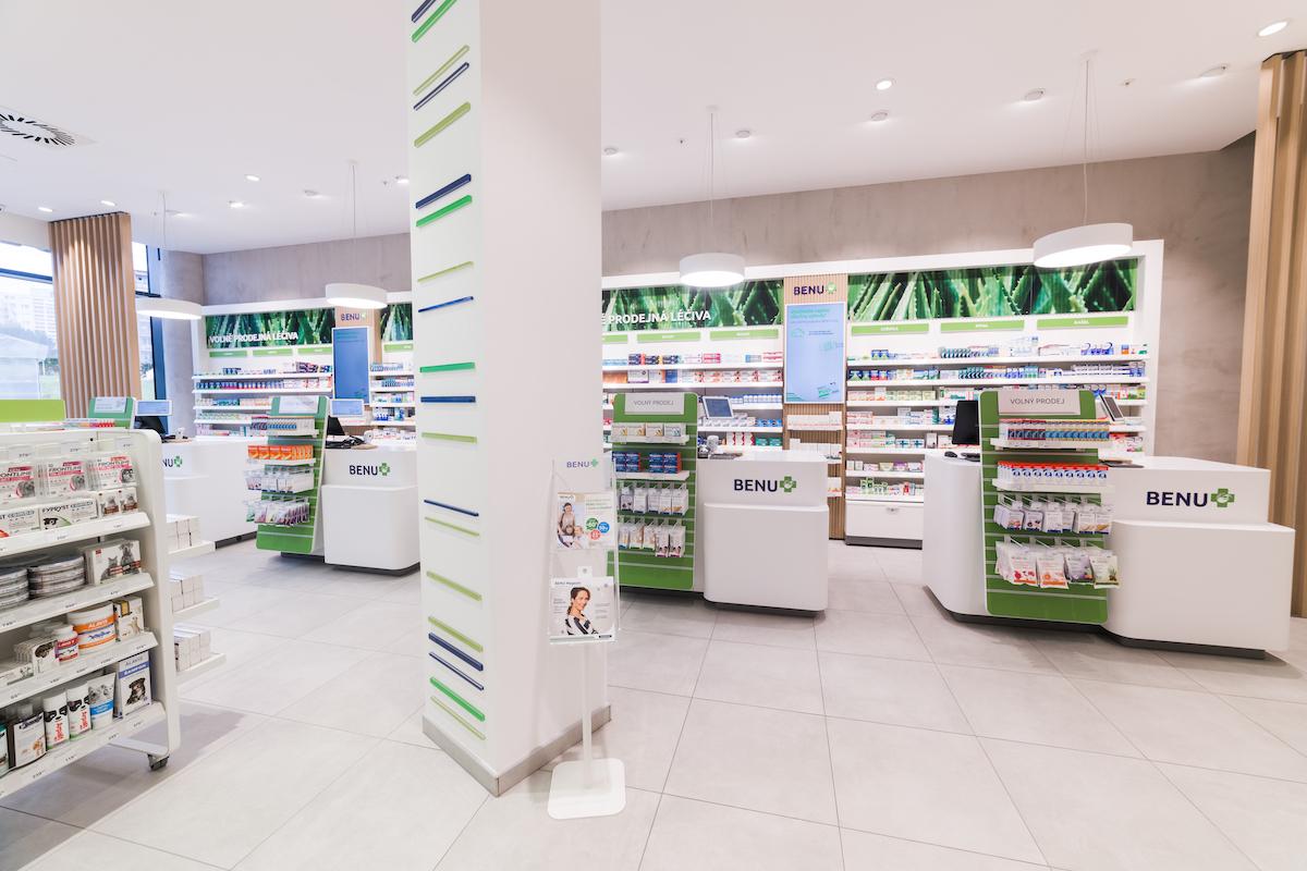 Nový koncept lékáren Benu, v pobočce na Chodově