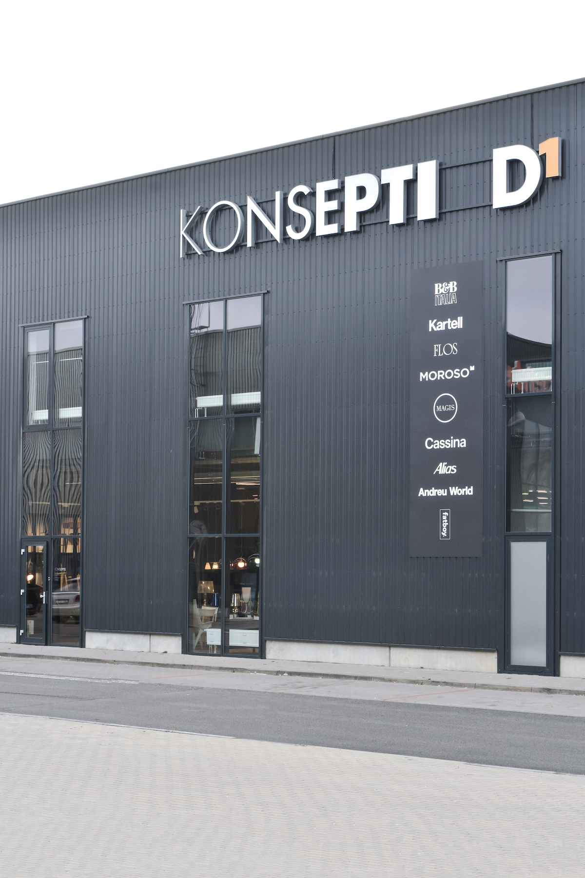 Showroom Konsepti v Brně