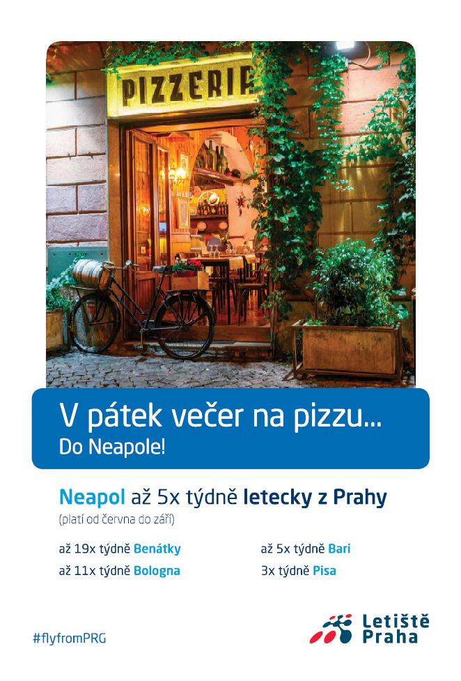 Aktuální kampaň Letiště Praha od Loosers