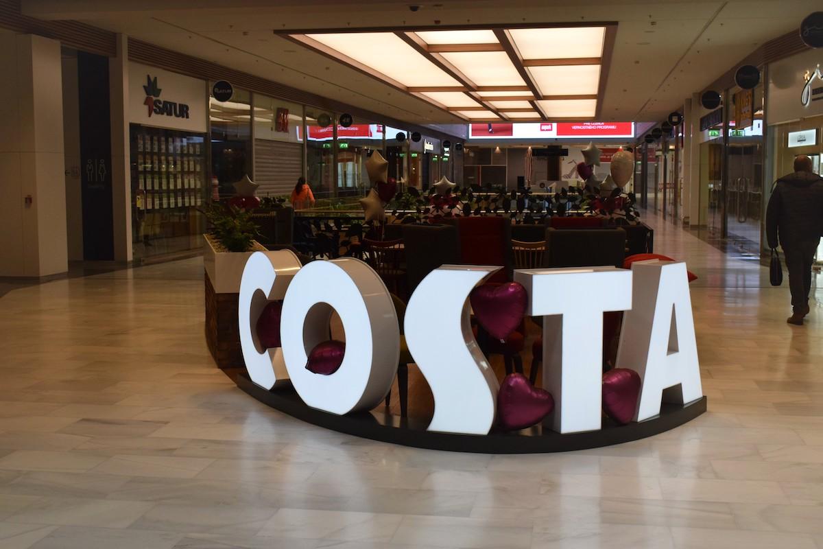 Costa Coffee v Bratislavě
