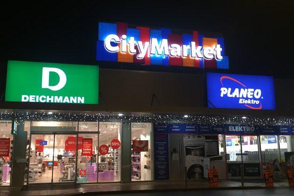 Retail Park vBrandýse nad Labem se mění na City Market