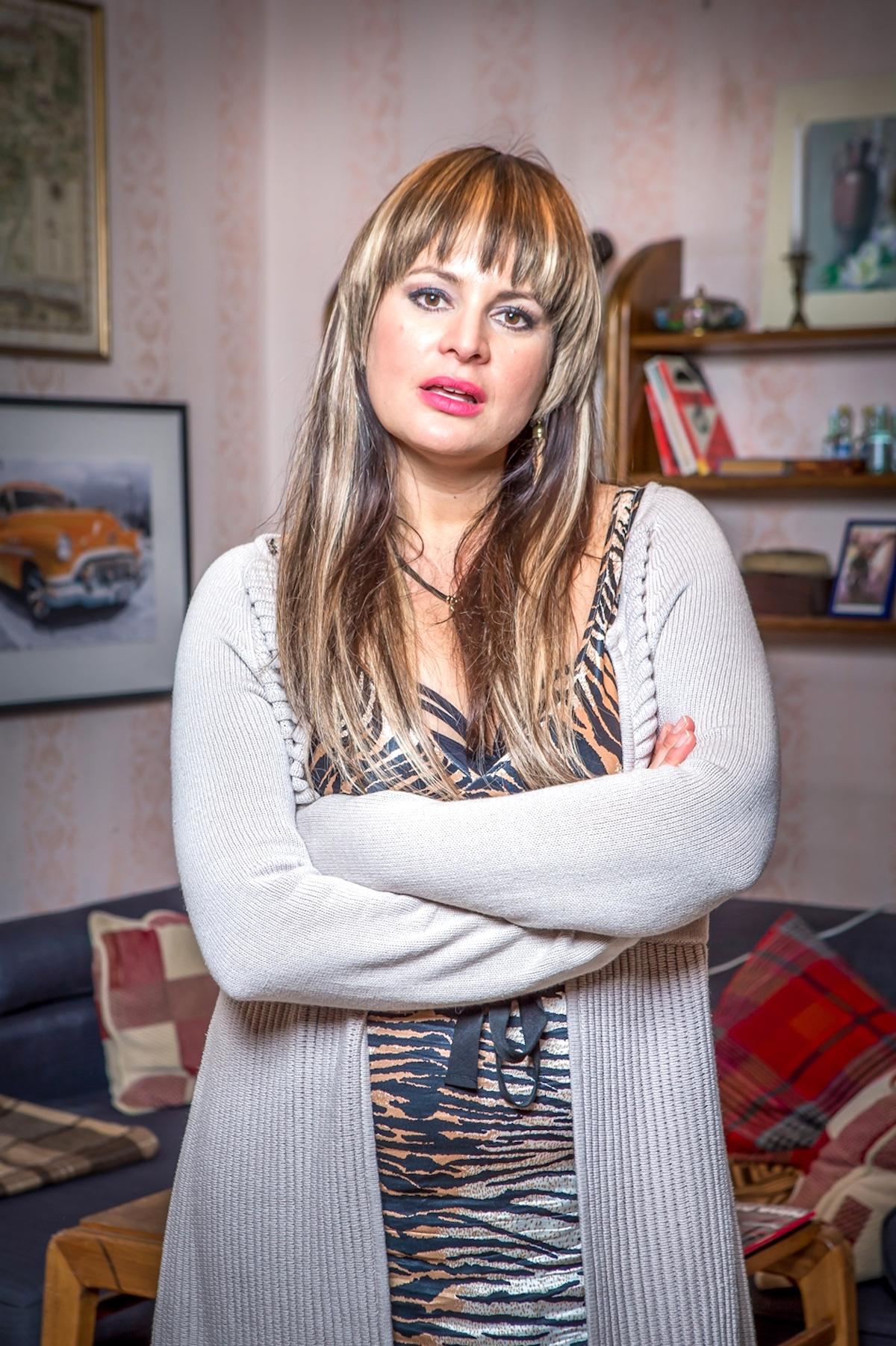 Jitka Čvančarová jako Ilona v seriálu Most! Foto: Česká televize