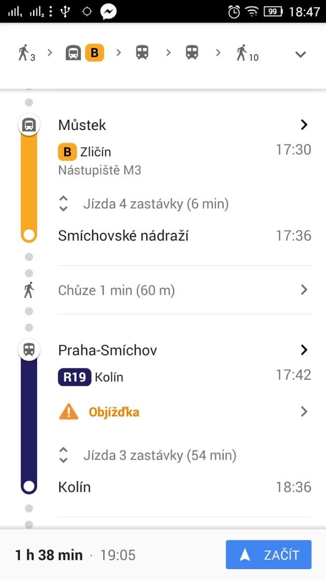 Google mapy díky otevřeným datům upozorní na problémy na trase