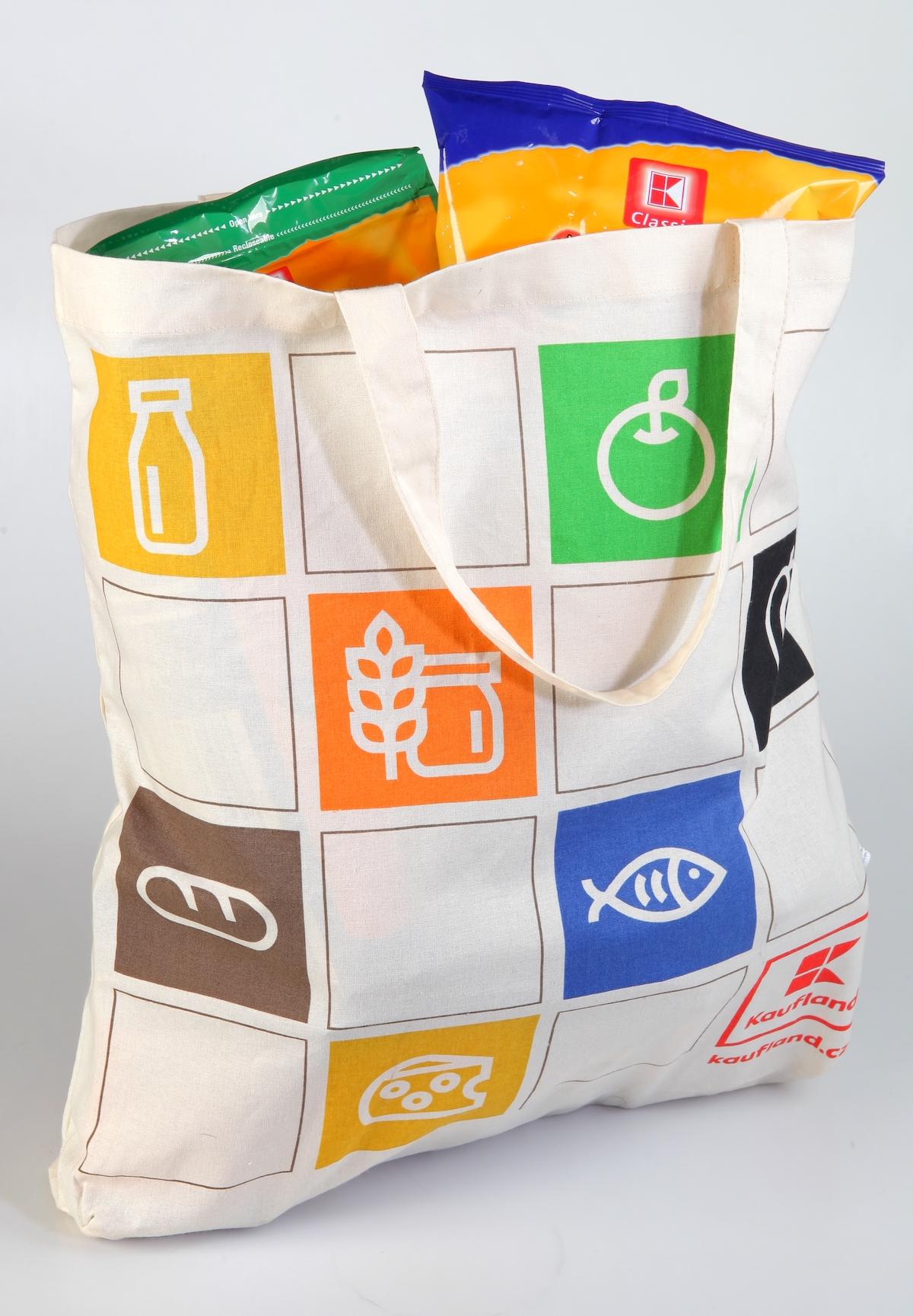 Látková taška Kauflandu