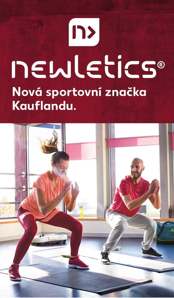 Vizuál nové privátní značky Kauflandu Newletics
