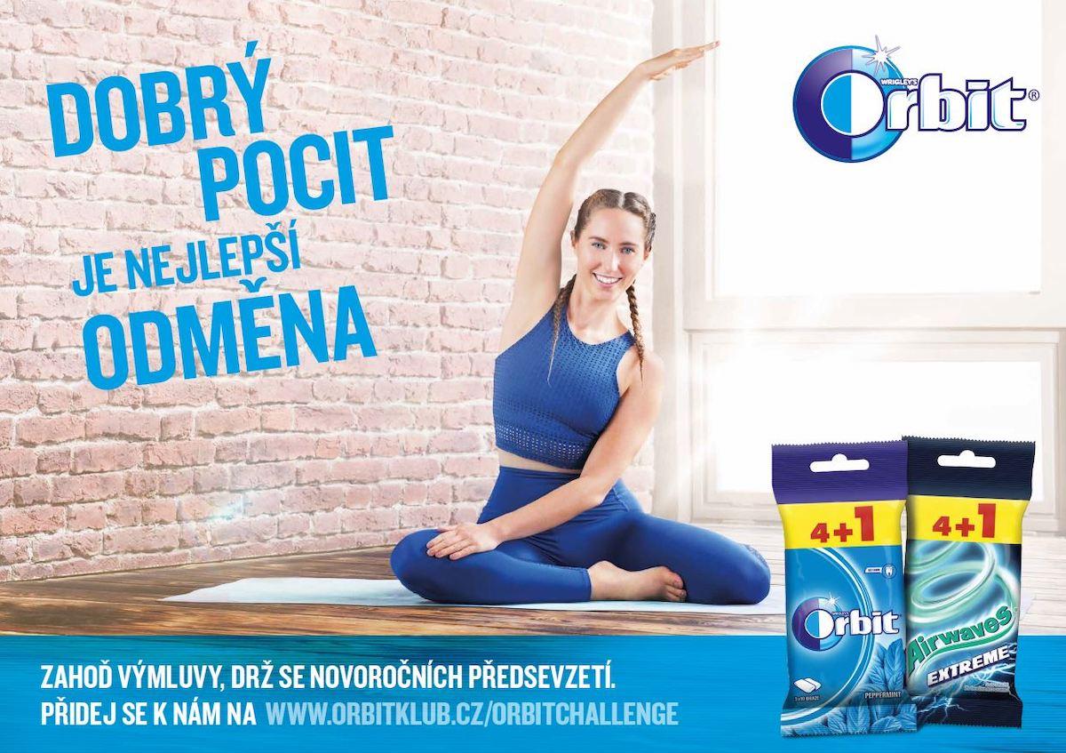 Karin Dimitrovová v kampani pro značku Orbit