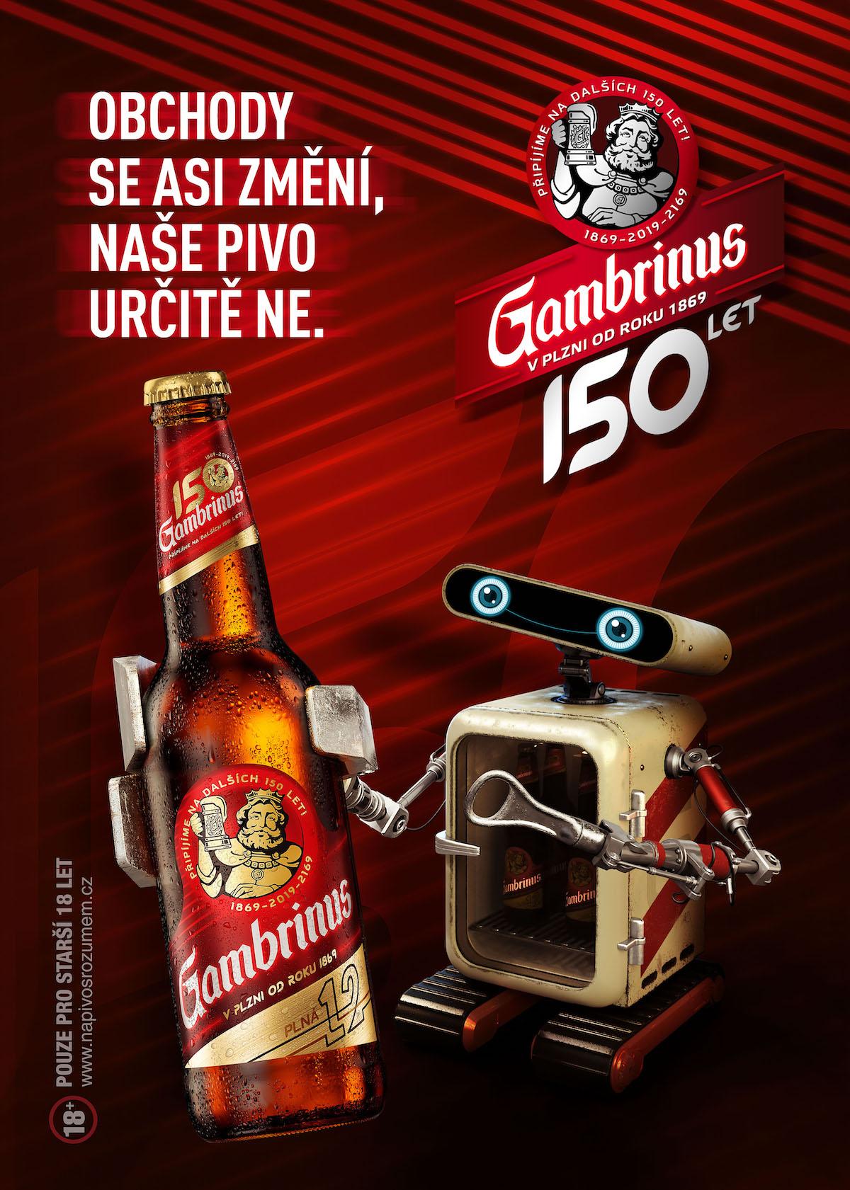 Gambrinus: Na dalších 150 let (McCann)