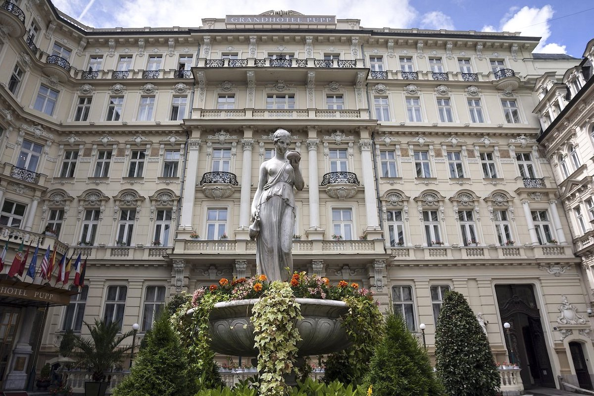 Grandhotel Pupp v Karlových Varech. Foto: Profimedia.cz