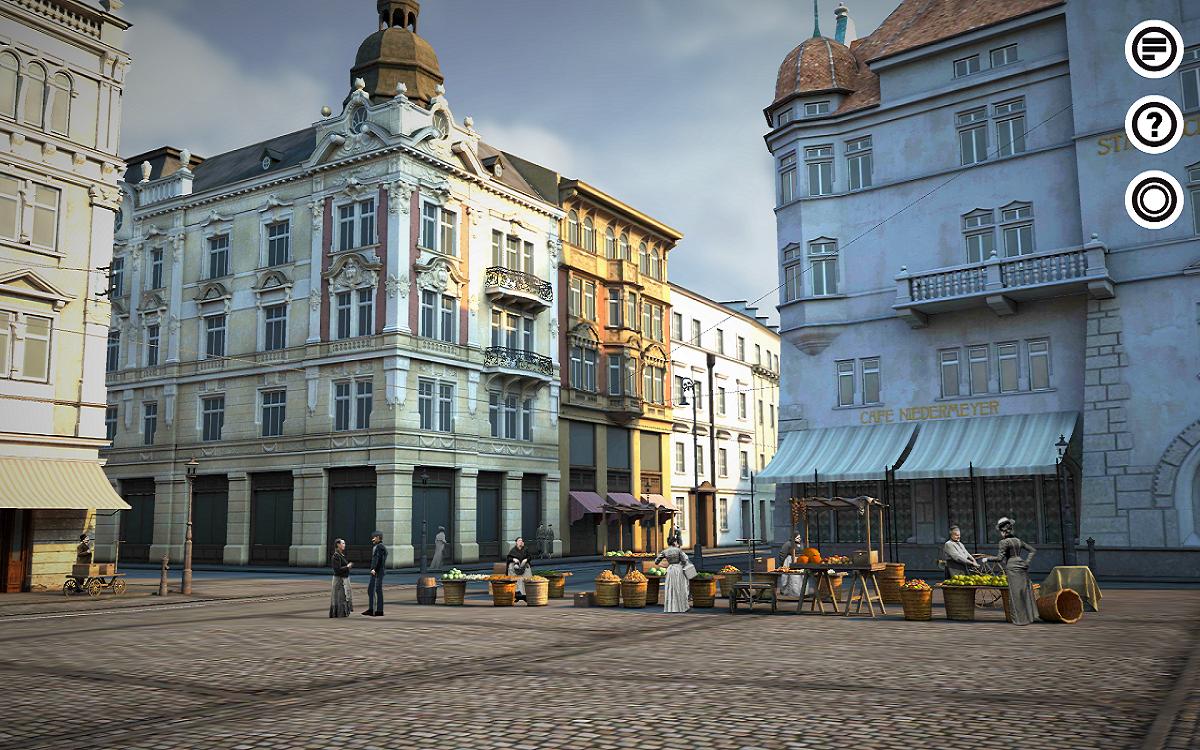 Opavská staletí VR pracují s virtuální realitou přímo na Horním náměstí