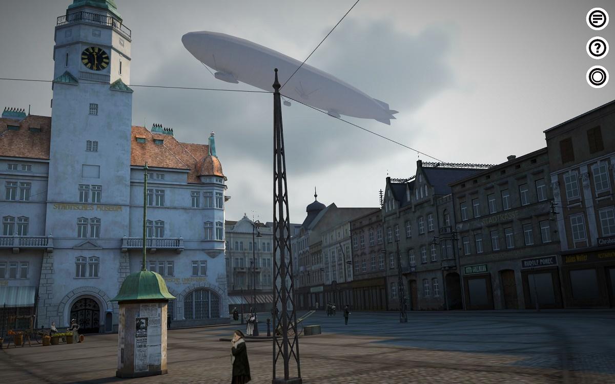 Lidé mají možnost zjistit, jak náměstí vypadalo v době před 2. světovou válkou