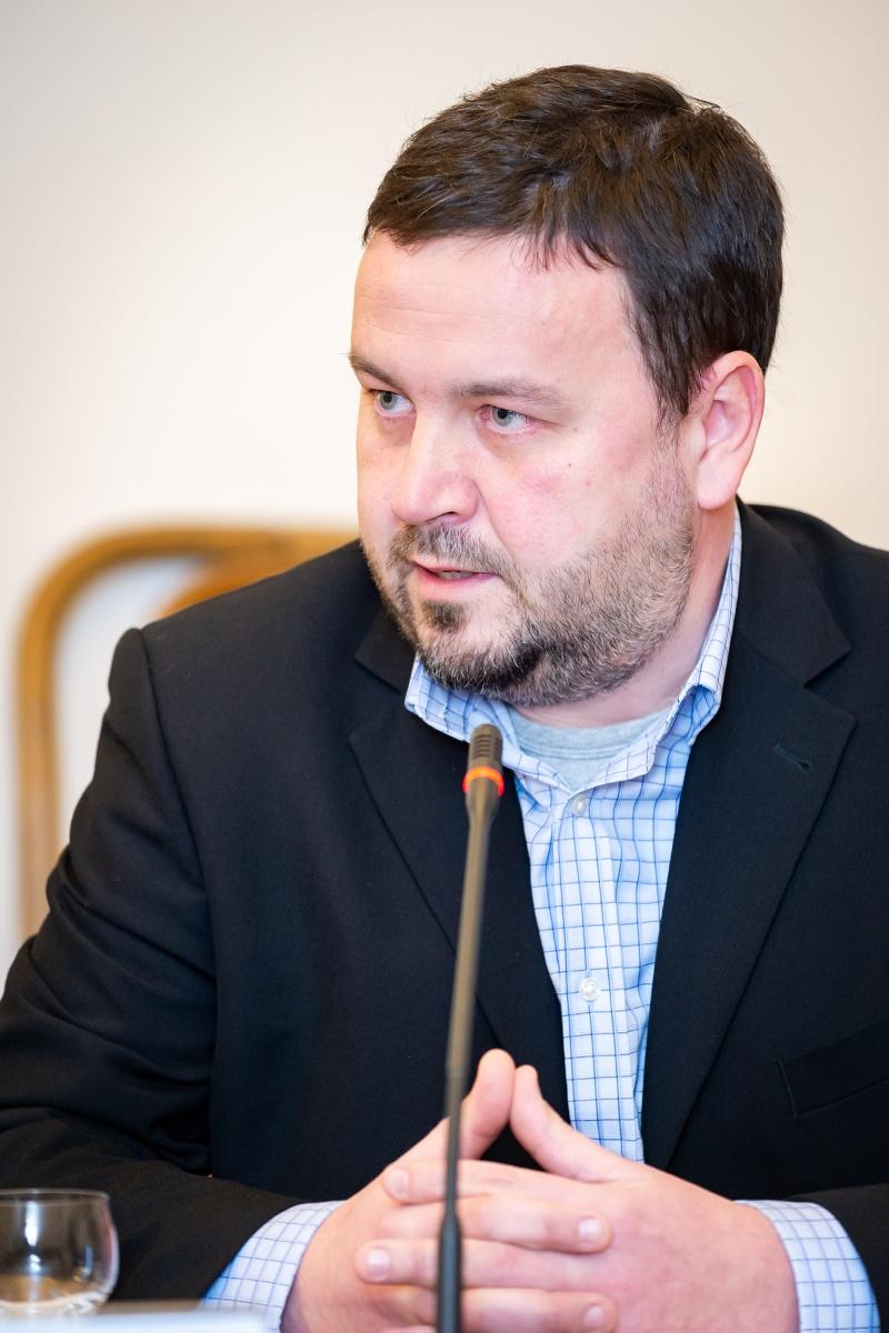 Tomáš Kňourek. Foto: Vojta Herout