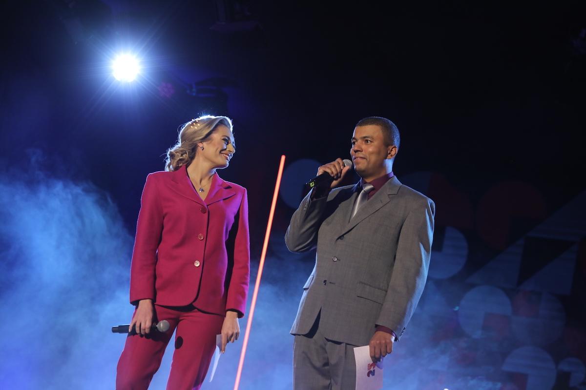 Lucie Borhyová a Reynolds Koranteng