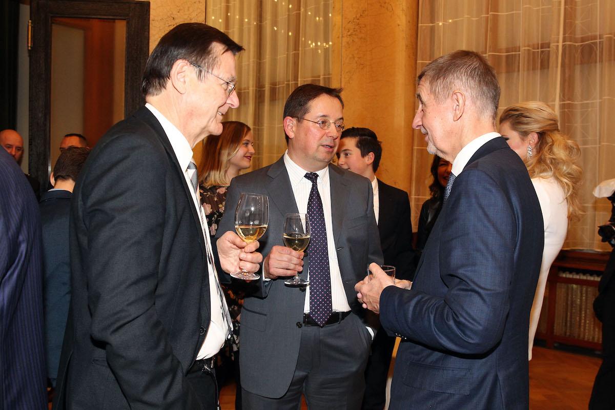 Christoph Mainusch a Andrej Babiš v rozhovoru