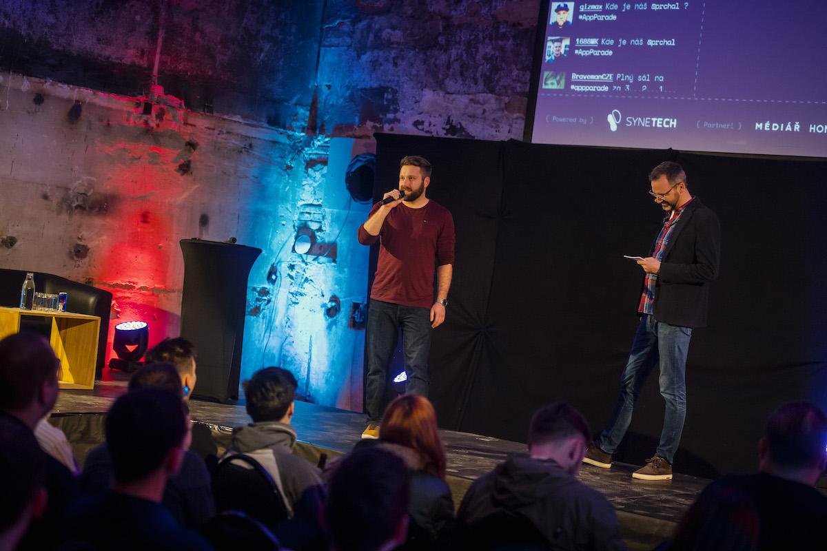 Představil se nový organizátor AppParade, Vratislav Zima ze studia Synetech