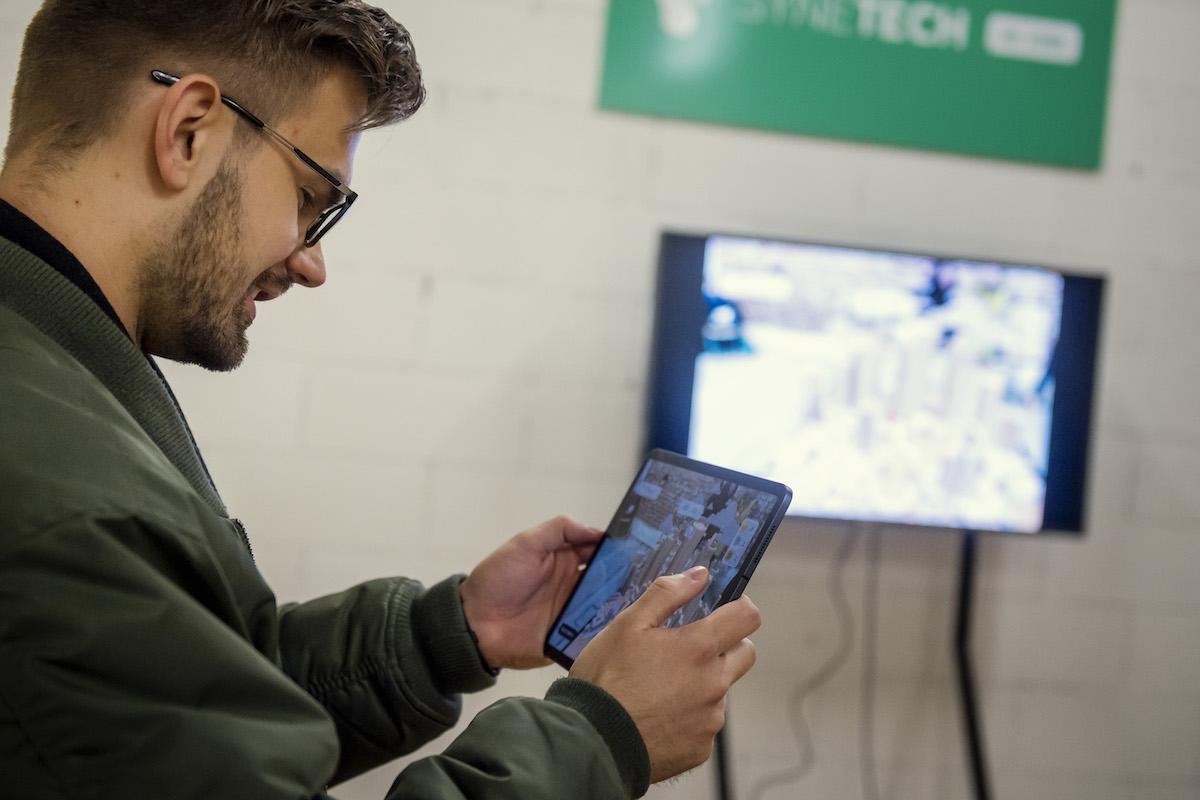 Přestávkový program zpestřila zóna s aplikacemi rozšířené reality (AR)