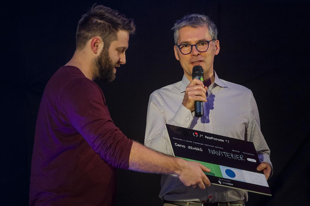 Vítězem diváckého hlasování se stala aplikace Naviterier