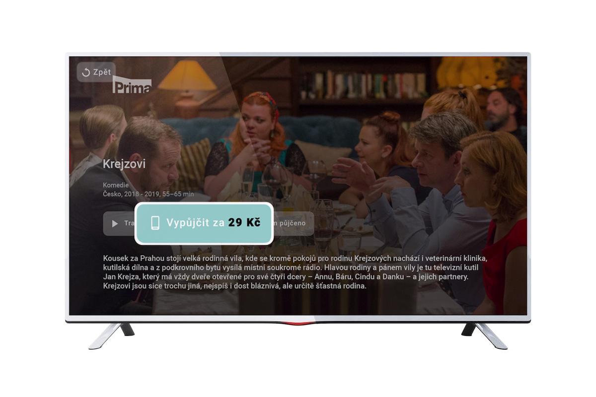 iPrima Videopůjčovna pro HbbTV
