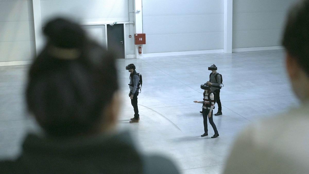 Virtuplex slouží k simulaci projektů ve virtuální realitě