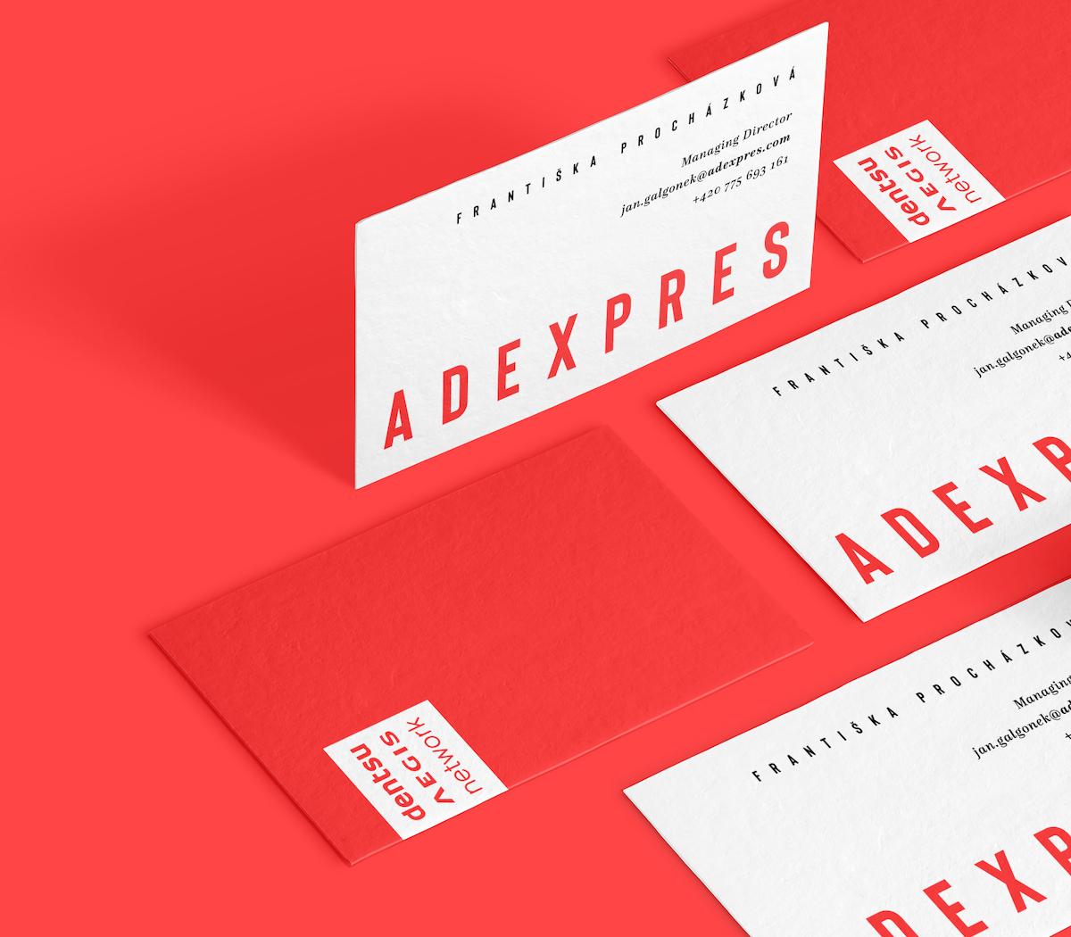 Nová vizuální identita agentury Adexpres