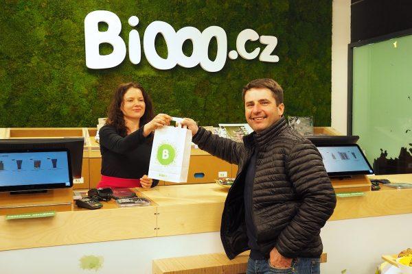 Biooo.cz má čtvrtou prodejnu, na Budějovické v centru DBK