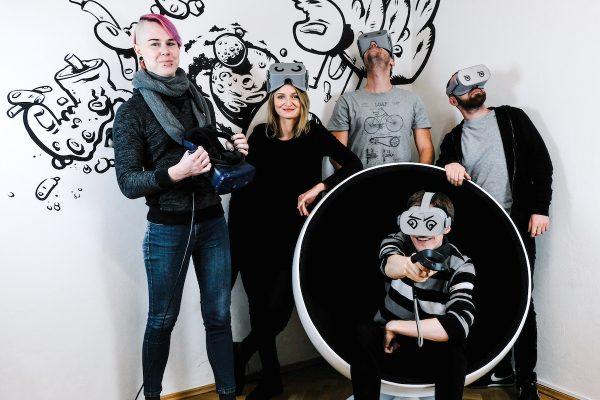 Brainz VR vzali pět nováčků: vývojáře i designéry