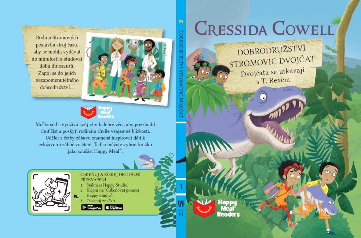 Dobrodružství Stromovic dvojčat od Cressidy Cowelové