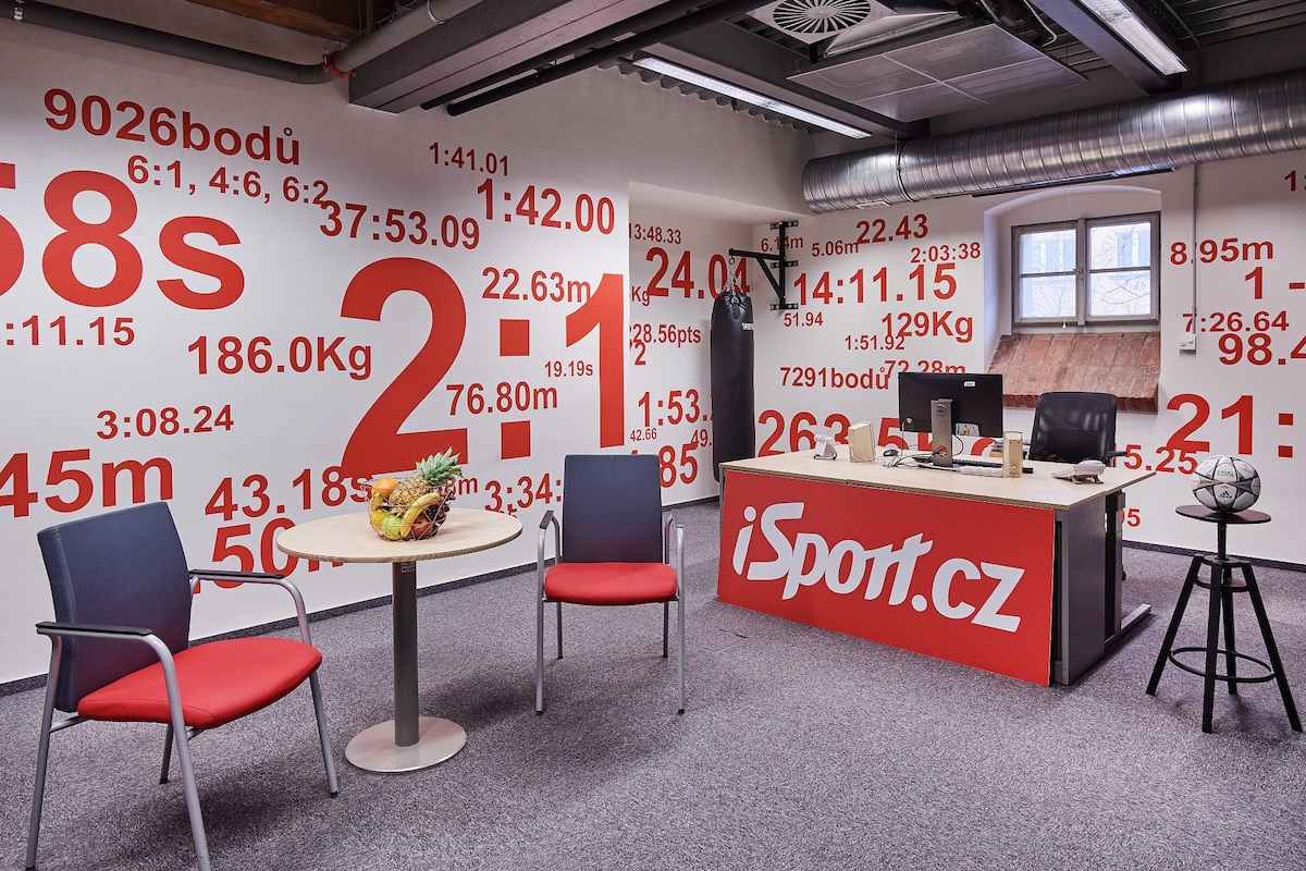 Kanceláře vydavatelství Czech News Center