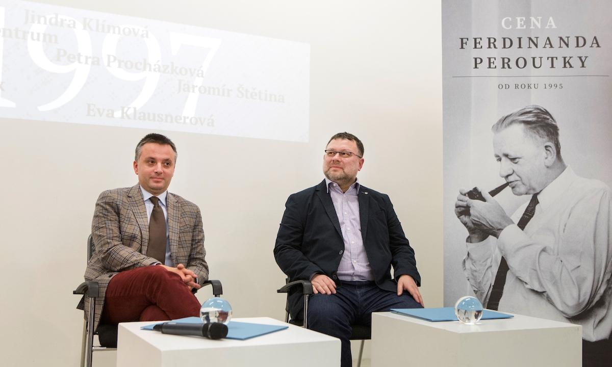 Ondřej Kundra, Jaroslav Kmenta a Ferdinand Peroutka