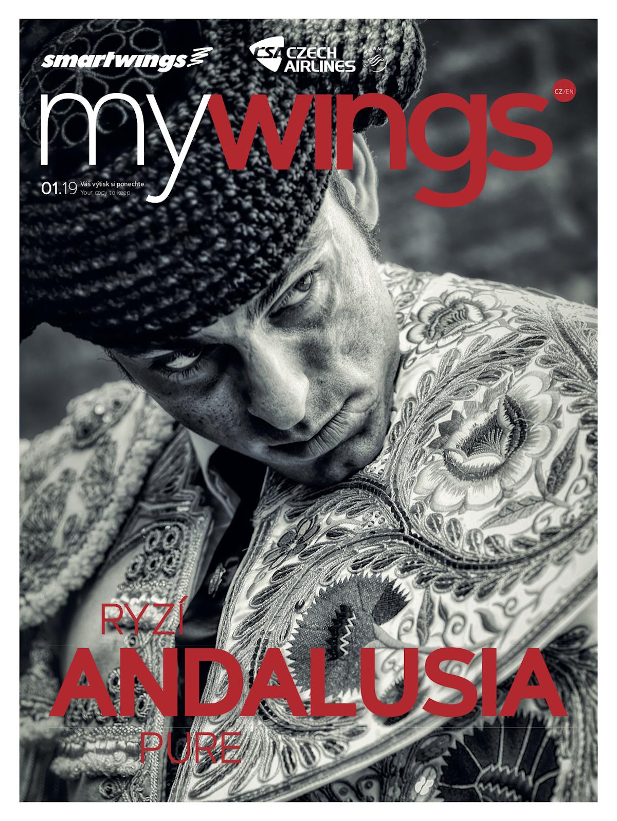 Titulní strana časopisu My Wings