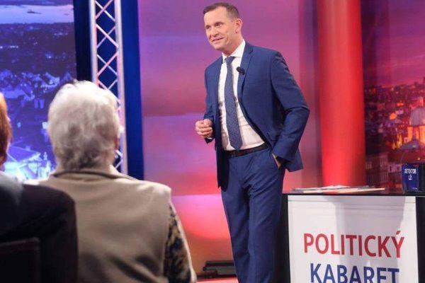 Soukup uvádí Politický kabaret, svůj 12. pořad