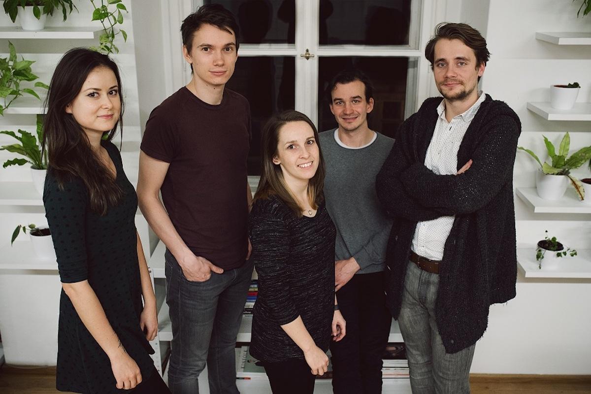 Část týmu agentury Digital Ant:Andrea Geletová (designérka), Štěpán Heller (vedoucí výkonnostního marketingu, spoluzakladatel), Bára Svobodová (PPC specialistka), Lukáš Obdržálek (spoluzakladatel), Jindřich Chytráček (vedoucí obsahu)