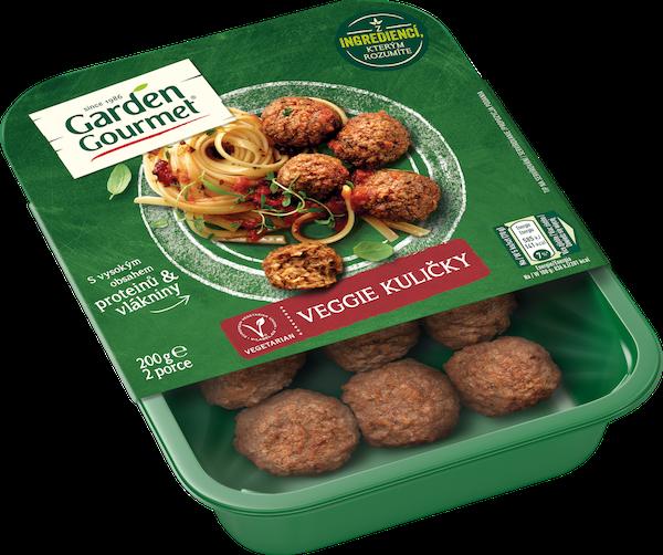 Garden Gourmet vegetariánské Veggie kuličky (200 g) se hodí do těstovin srajčatovou omáčkou, lehkých salátů i do pikantních asijských směsí