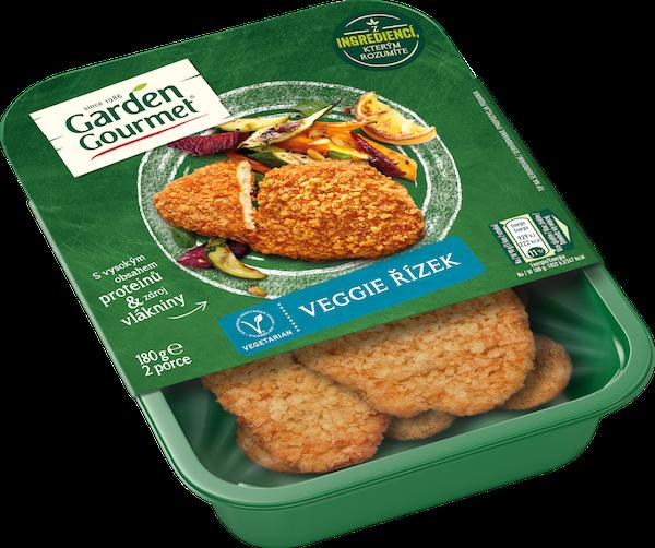 Garden Gourmet vegetariánský Veggie řízek (180 g) je česká klasika ve vegetariánské verzi