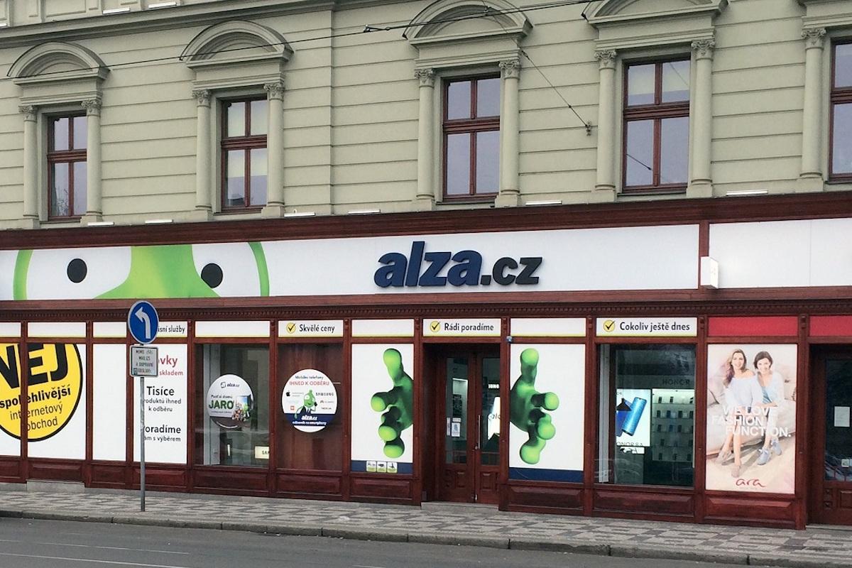 Prodejna Alzy na pražském Andělu