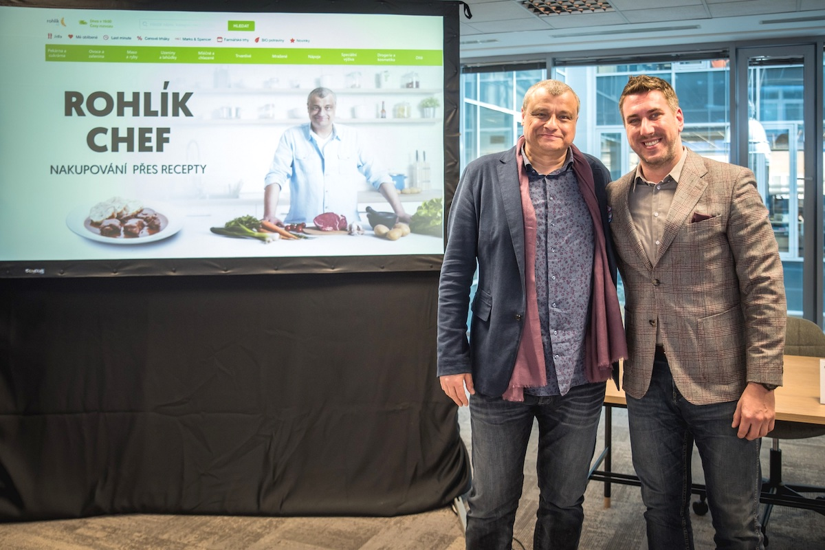 Roman Vaněk a Tomáš Čupr na dnešní tiskové konferenci