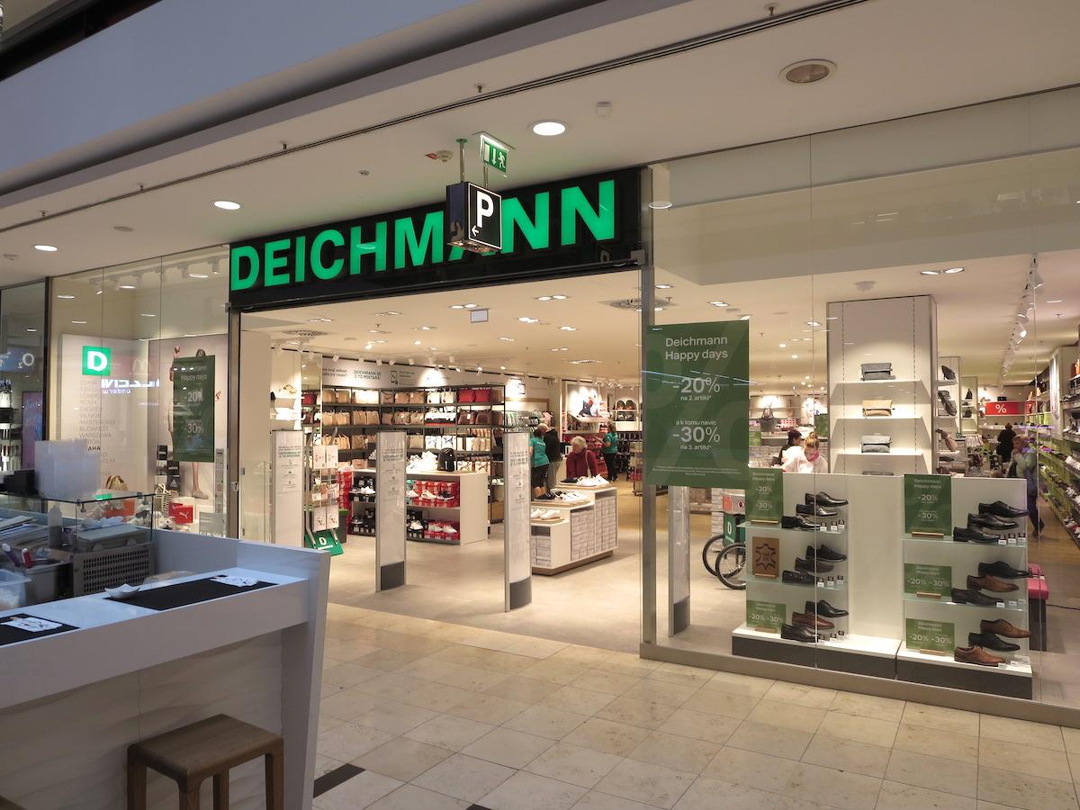 Nový Deichmann v Arkádách Pankrác