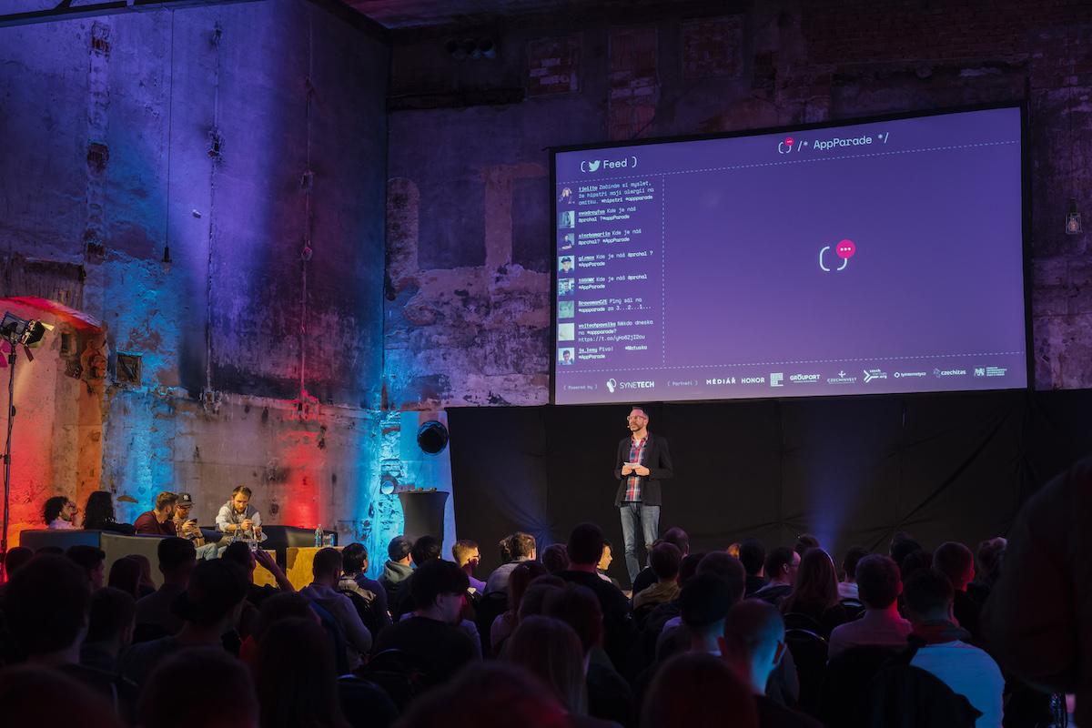AppParade 31 proběhla ve Vnitroblocku. Foto: Lukáš Wagneter (Red Bull Media House)