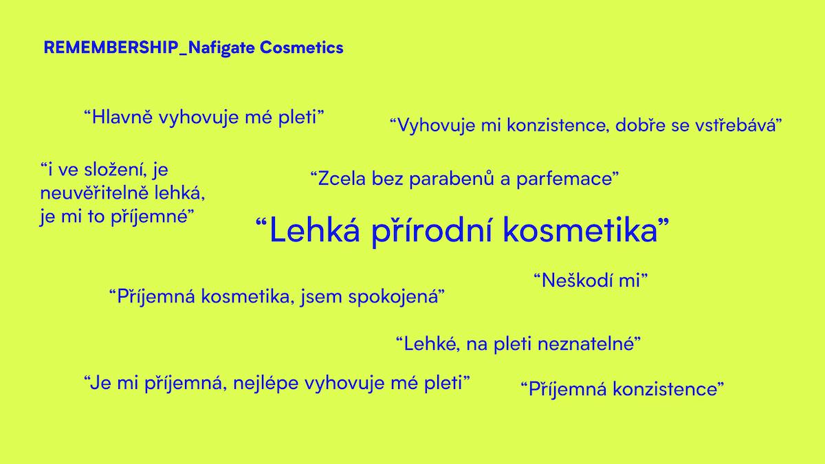 Hledání základní myšlenky kreativního konceptu Nafigate Cosmetics
