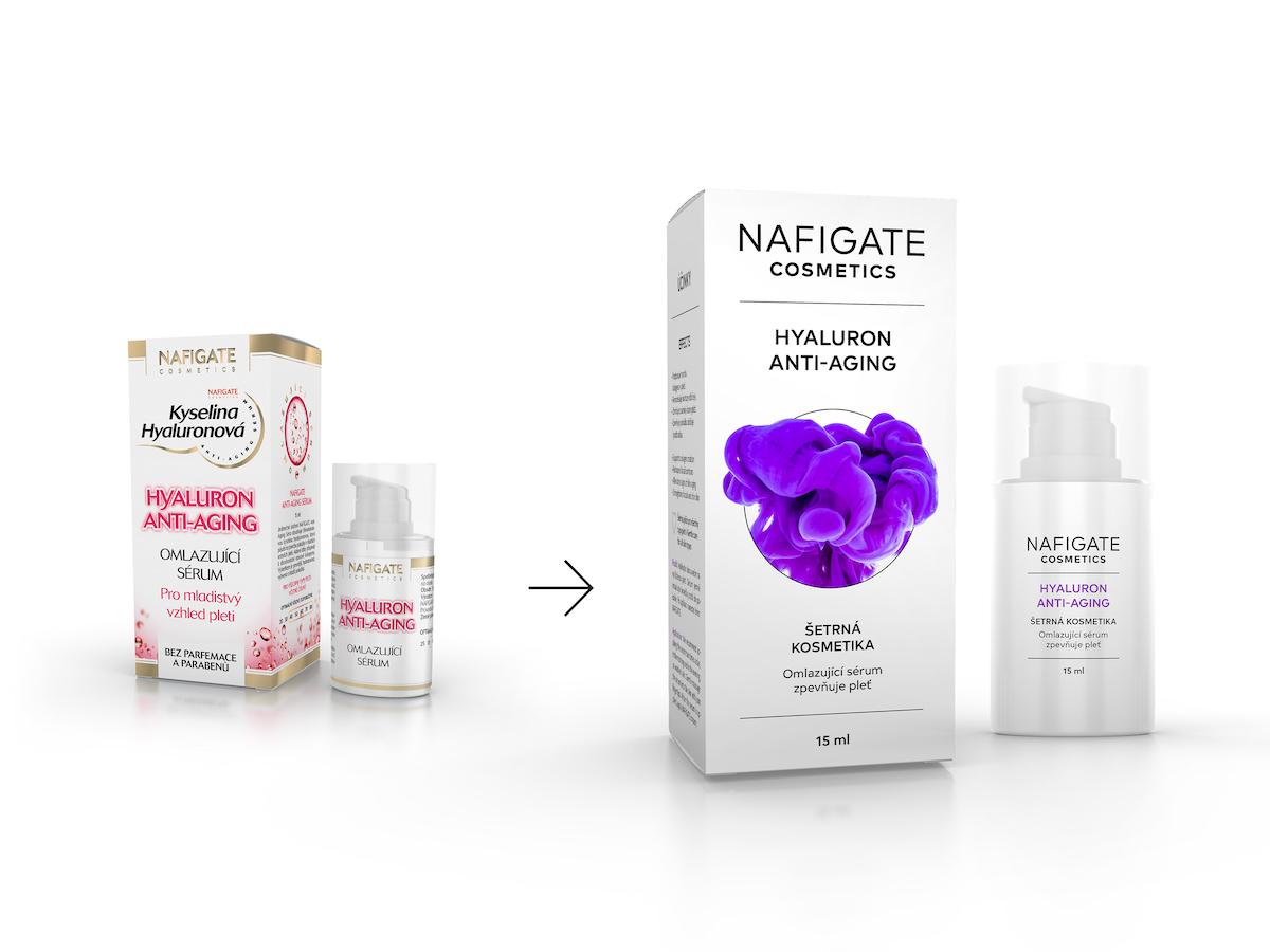 Design Nafigate Cosmetics před a po