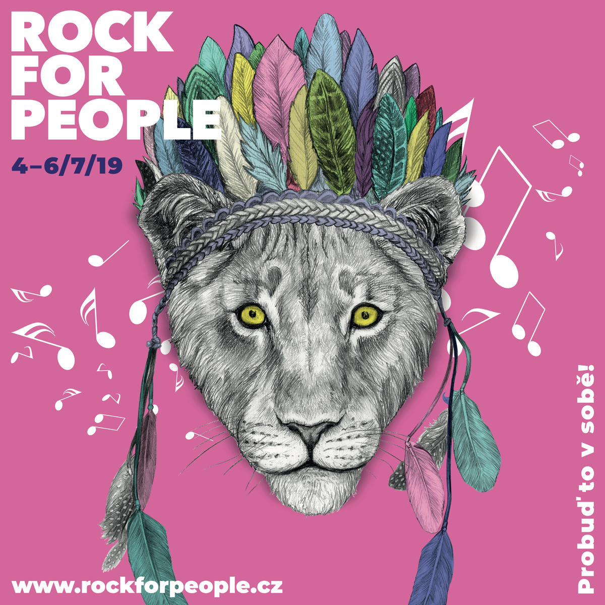 Nový vizuál Rock for People od Amdenu