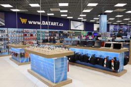 Datart přestavěl středně velkou prodejnu ve Foru v Ústí nad Labem