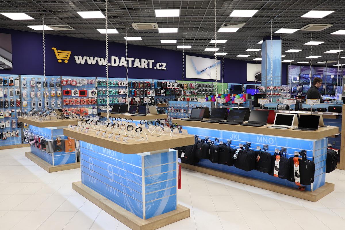 Inovovaná prodejna Datartu v Ústí nad Labem