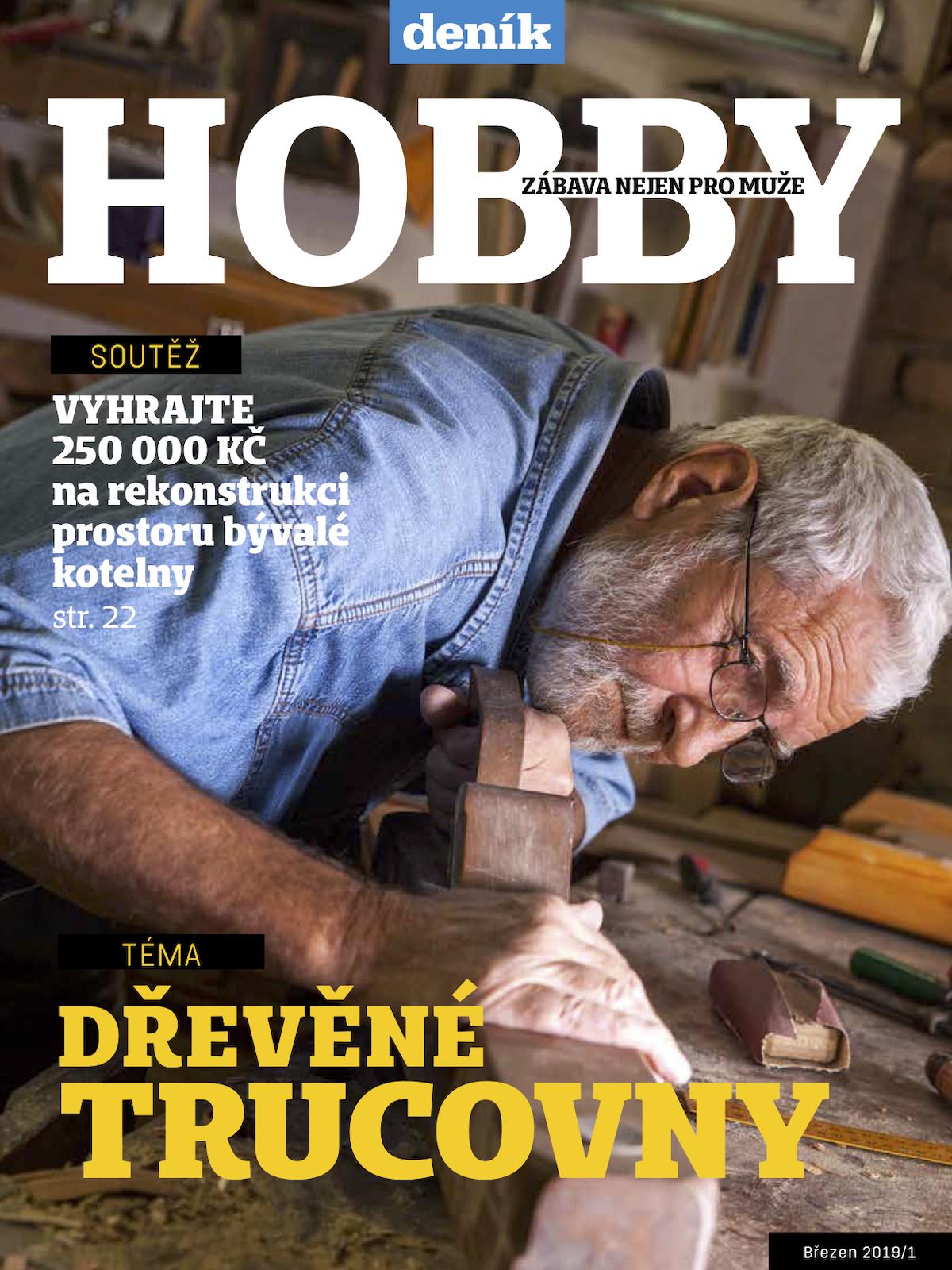 Titulní strana přílohy Hobby