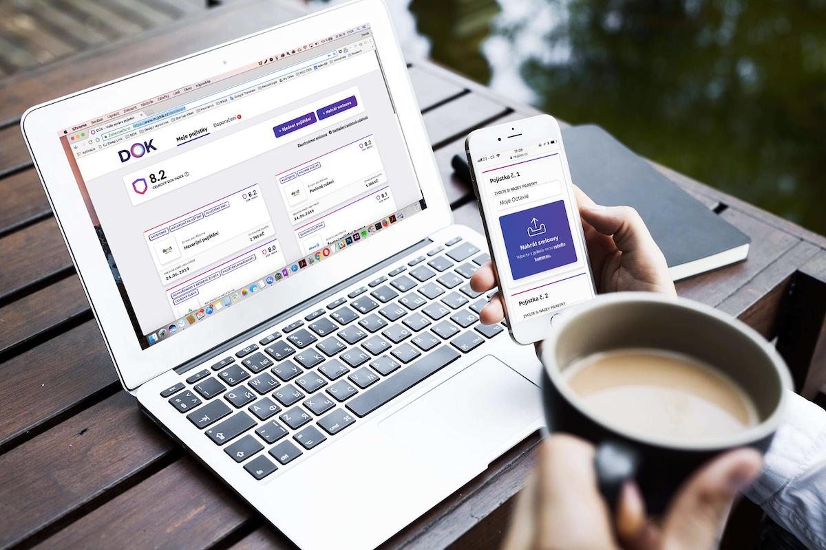 Služba Dok umožňuje sjednat si pojištění online