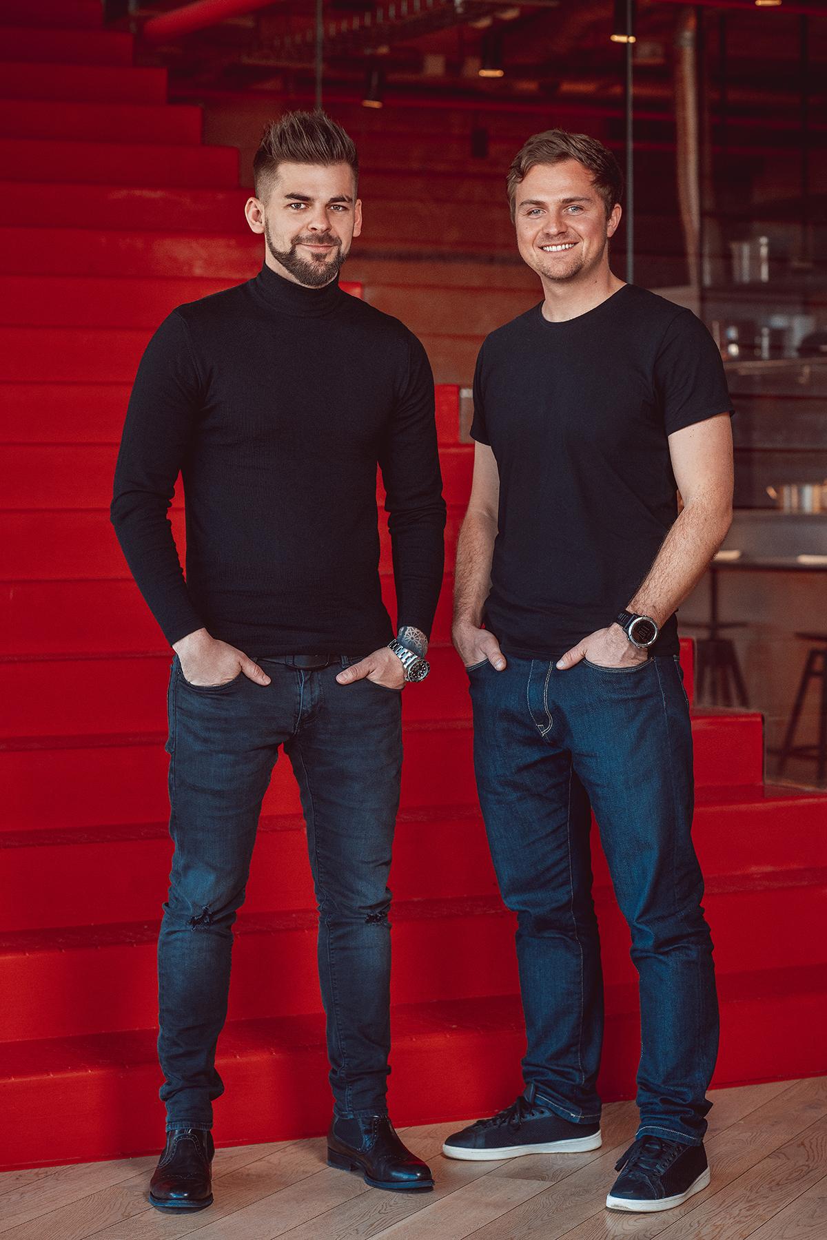 Jan Galgonek (vlevo) a Lukáš Hykl