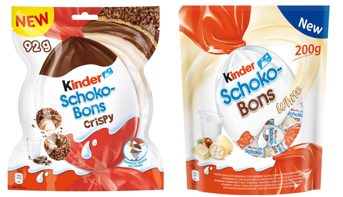 Kinder Schoko-Bons v nových limitovaných variantách