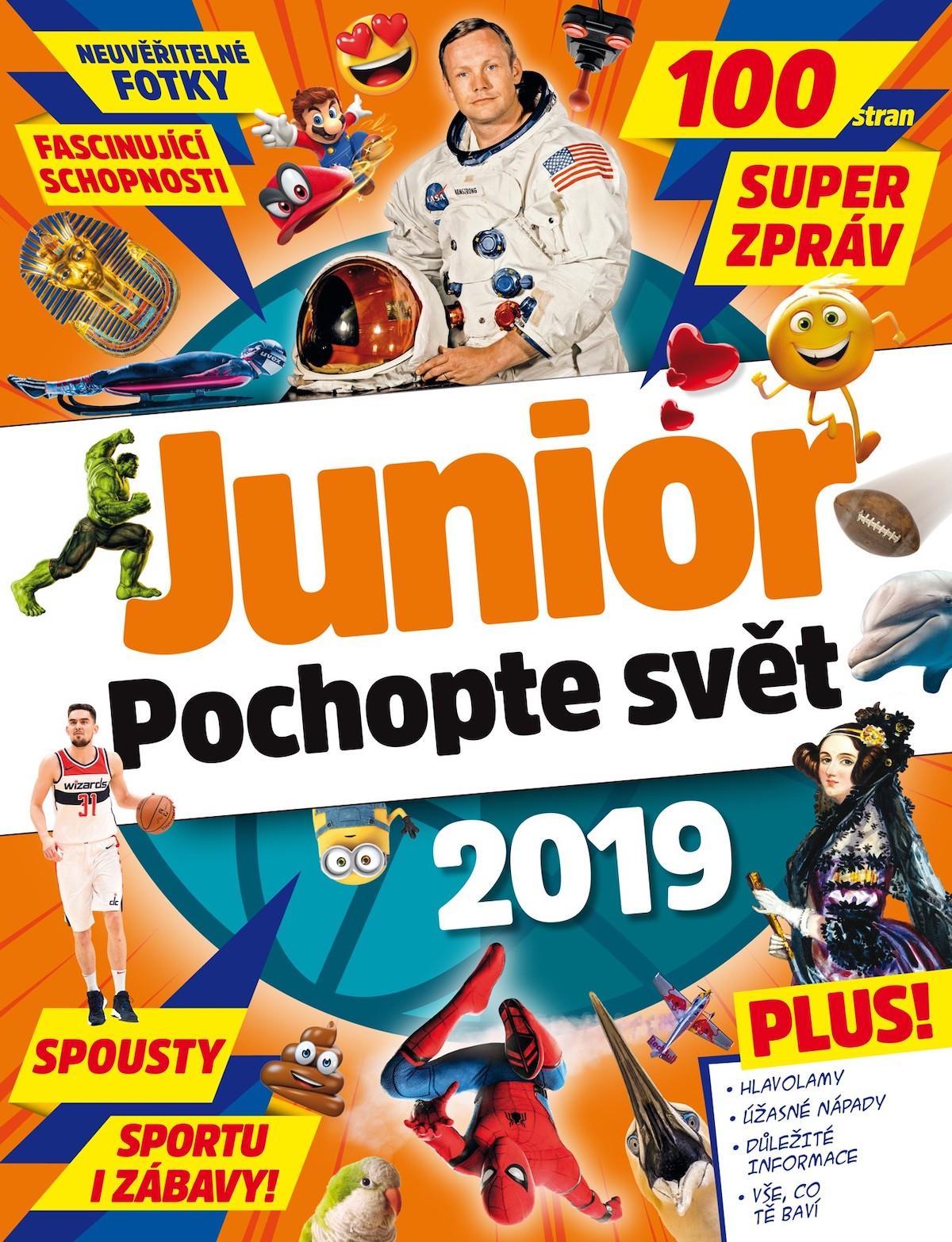 Titulní strana Týdeníku Květy Junior - Pochopte svět