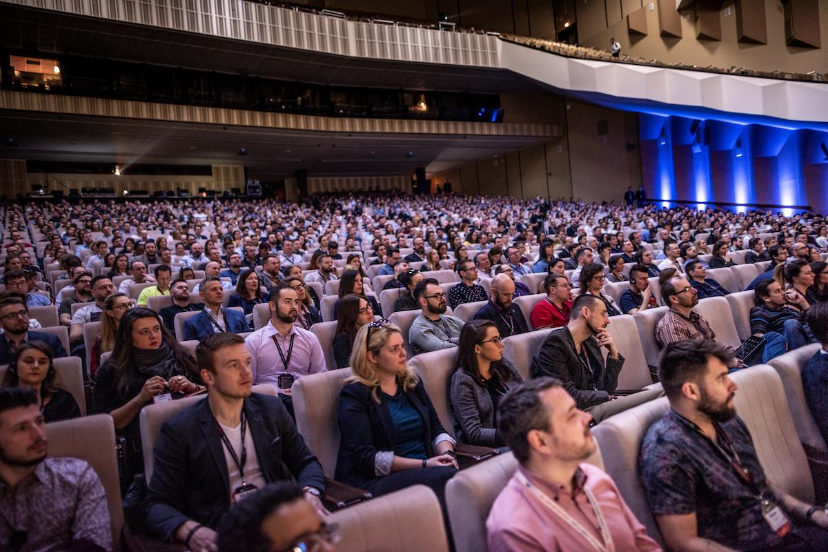 Marketing Festival letos proběhl v hlavním sále Kongresového centra v Praze