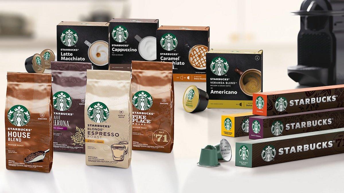 Nová řada kávy Starbucks od Nestlé zahrnuje i kapsle do kávovarů