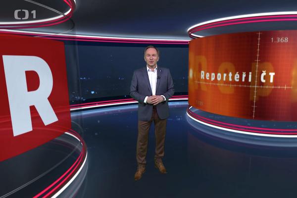 Reportéři ČT vysílají už 15 let